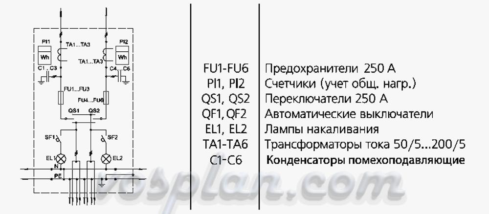 Схема вру-1-11-10ухл4